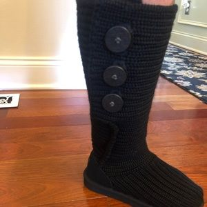 UGG Sweater Knit Boots